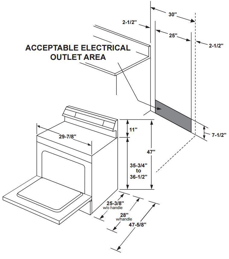 GE JBS60DKWW 30 Inch Electric Freestanding Range with