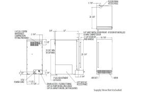 Scotsman SCN60PA1SS Stainless Steel Freestanding and Built