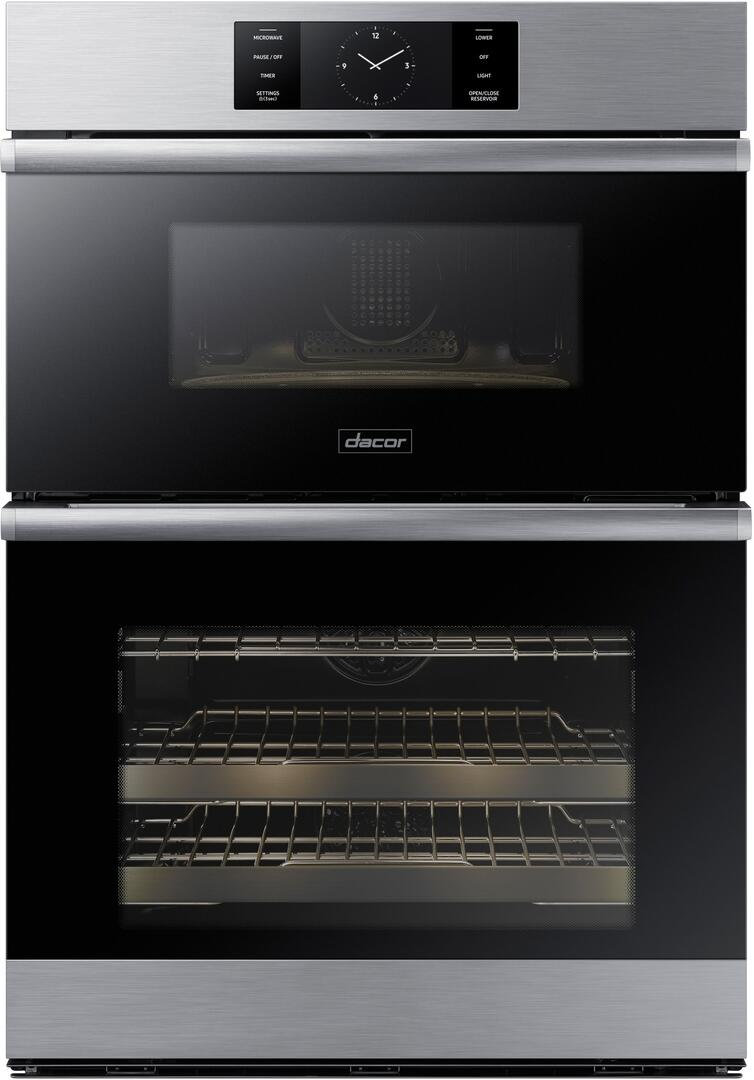 hight resolution of dacor modernist doc30m977ds 30 modernist series combi wall oven