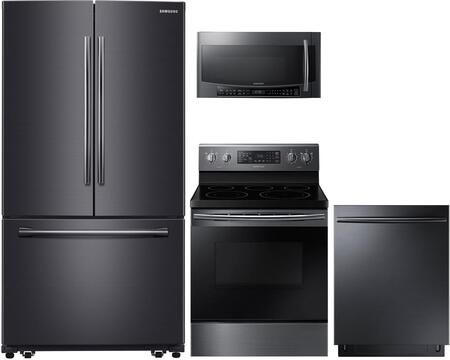 samsung kitchen package ashley furniture table sets 771518 appliance packages appliances connection zoom in 4 piece black stainless steel