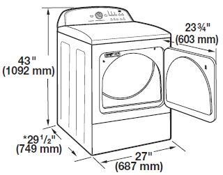 Bestseller: Whirlpool Cabrio Dryer Owners Manual