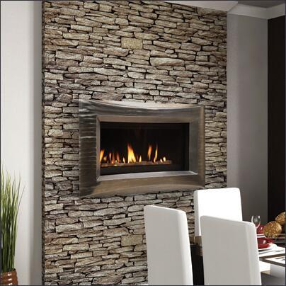 Majestic WDV500NTSC Echelon Series Wall Mountable Direct Vent Natural Gas Fireplace  Appliances