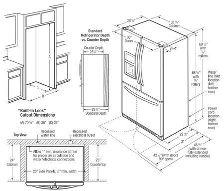 Frigidaire DGHF2360PF Gallery Series 36 Inch Counter Depth