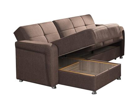sectional sofas under 1000 00 two seat sofa with chaise casamode harmonysectionalbrown harmony series sleeper ...