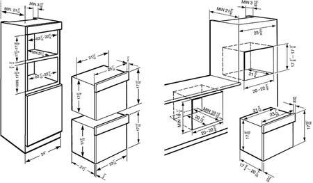 Smeg SCU45VCS1 24 Inch Linea Series Steam Combination
