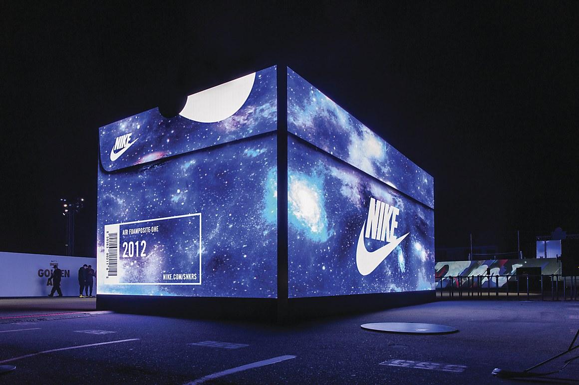 Nike popup store  Communication Arts