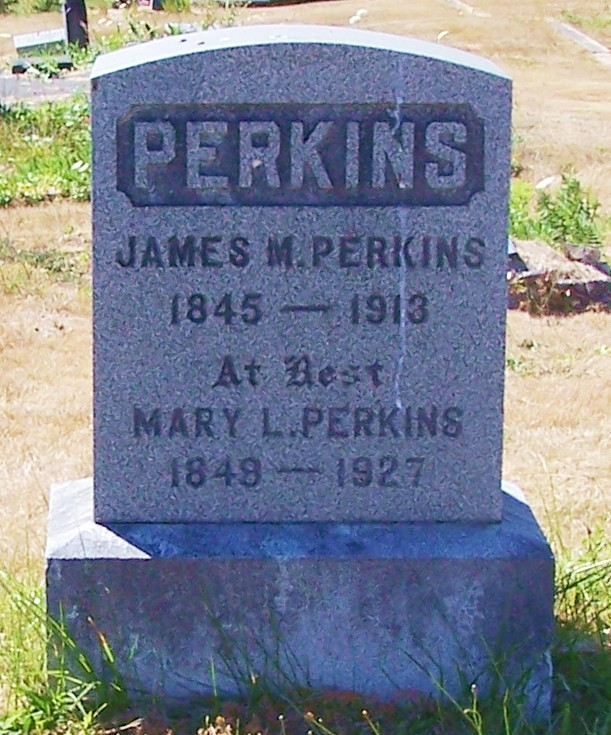 James Manley Perkins, Mary Lucretia (Covey) Perkins, Coquille, OR