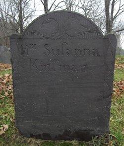Susanna <i>Dutch</i> Kinsman