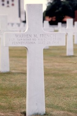 2Lt Warren M French
