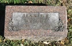 Jennie Emily <i>Olmstead</i> Wright