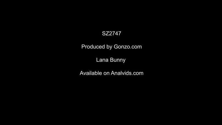Lana Bunny DAP punishment 5on1 with huge gapes SZ2747