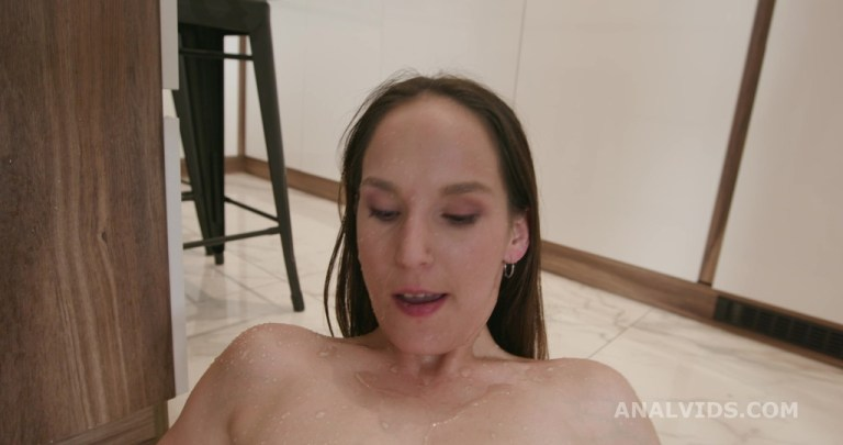 Ivy Wild Vs 2 BBS Goes Wet, with Balls Deep Anal, Pee Drink, DP, Gapes and Cum Swallow GL377