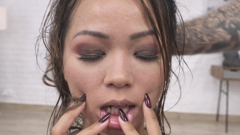 (Dry version) DAP only anal for Jureka Del Mar 0%pussy, white guys on asian girl, real balls deep, rimming, spits gapes PAF028