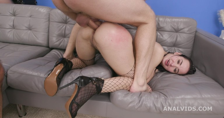 7on1 Double Anal GangBang with Freya Dee, ATM, DAP, No Pussy, Swallow GIO1560