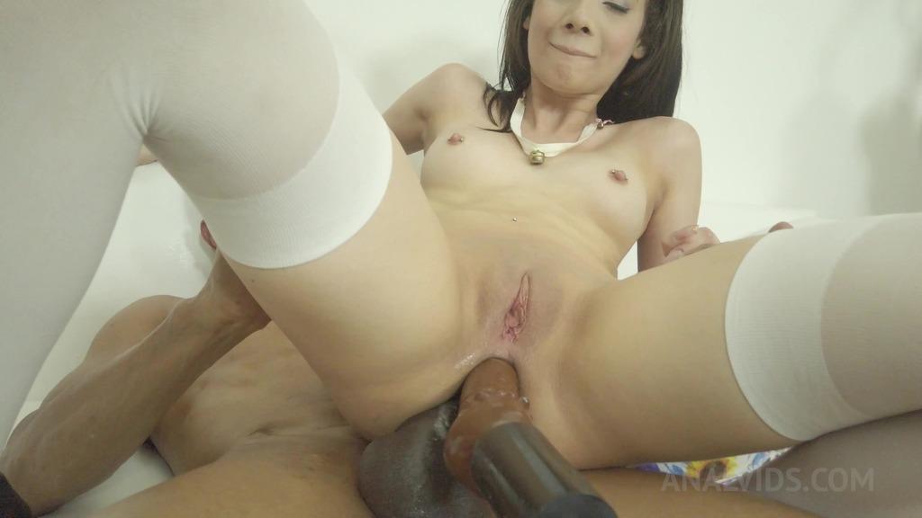 Emily Pink DAP'ed by BBC and sex machine OTS162