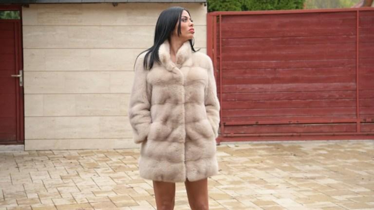 Russian Dom Sasha Rose Smacks Her Busty Latina Lynx Sub Canela Skin Around GP1815