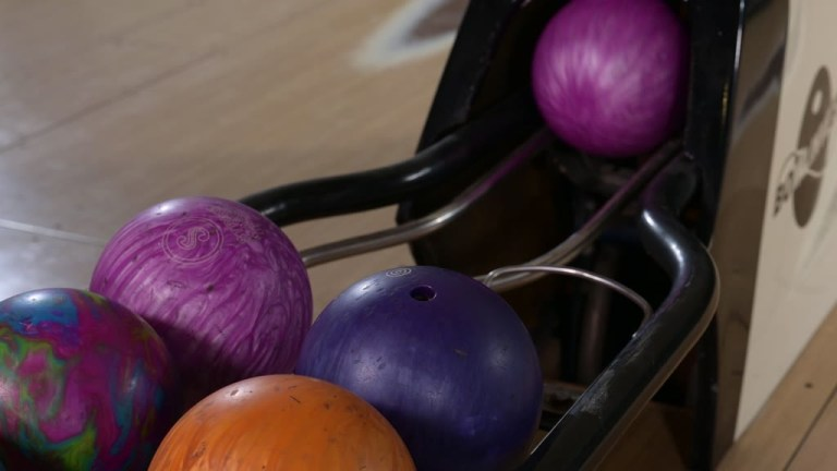 Interracial Bowling Alley Orgy With Curvy French Sluts GP1859
