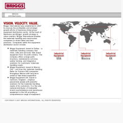 Briggs International Wiring Diagram For Intertherm Electric Furnace Briggsinternational Competitors Revenue And Employees Owler Website History