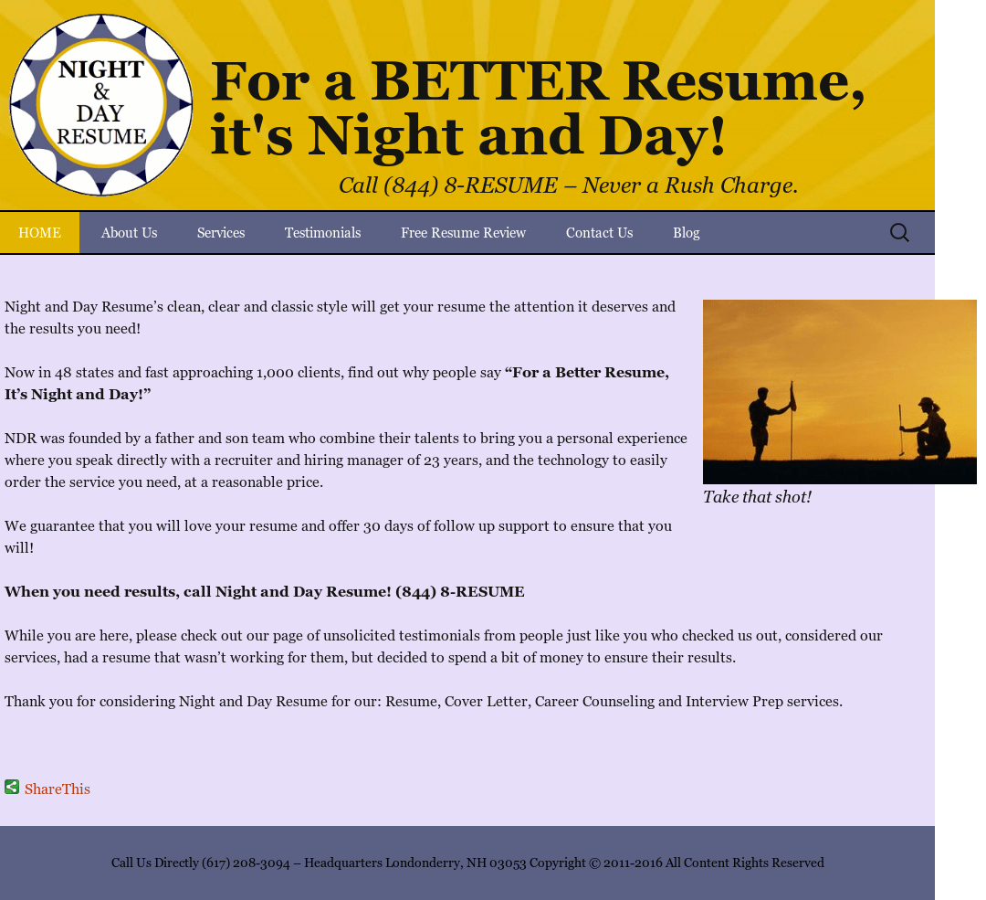 Night And Day Resume Competitors, Revenue And Employees - Owler Company  Profile