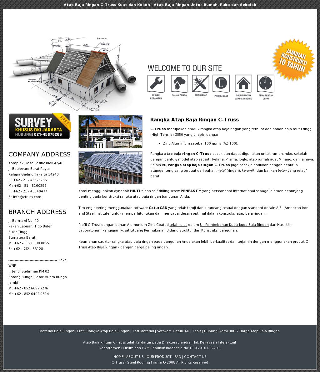 baja ringan g550 c truss competitors revenue and employees owler company profile
