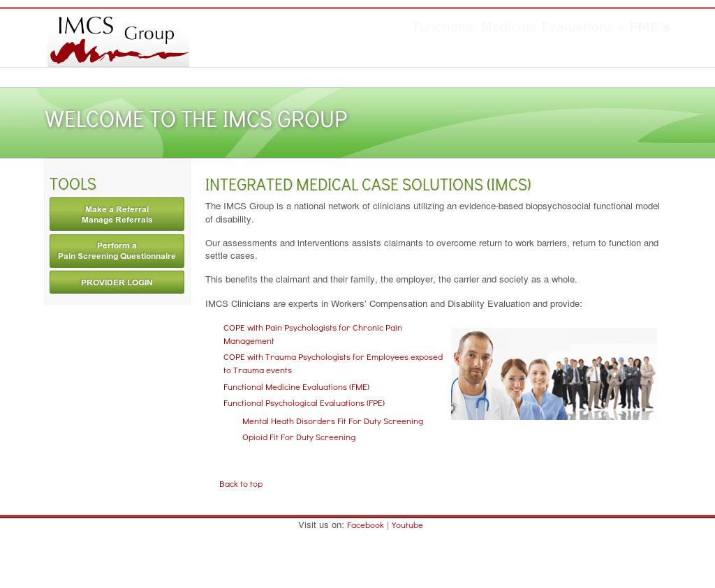 Imcs Website History