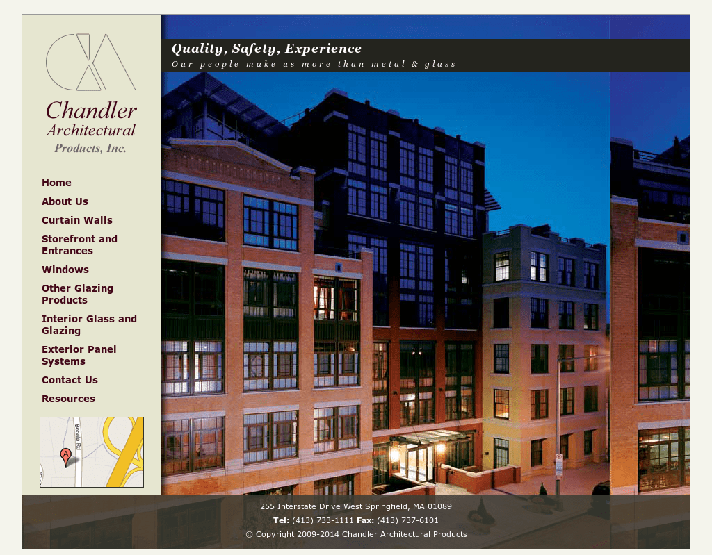 Chandler Architectural Products Competitors, Revenue And