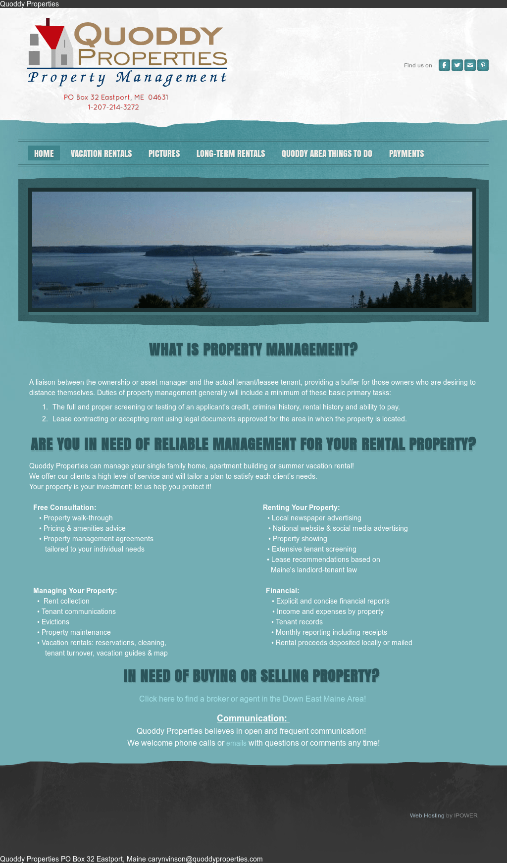 Quoddy Properties Competitors, Revenue and Employees - Owler Company ...
