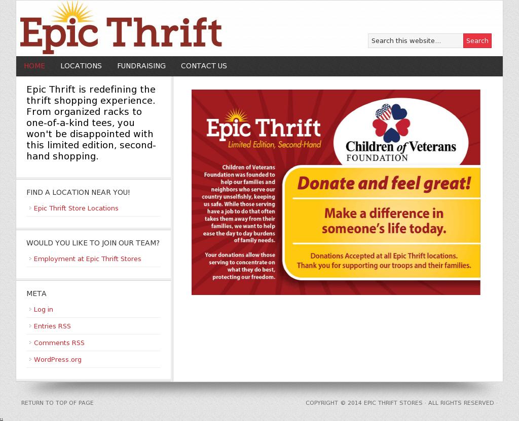 epic thrift competitors revenue