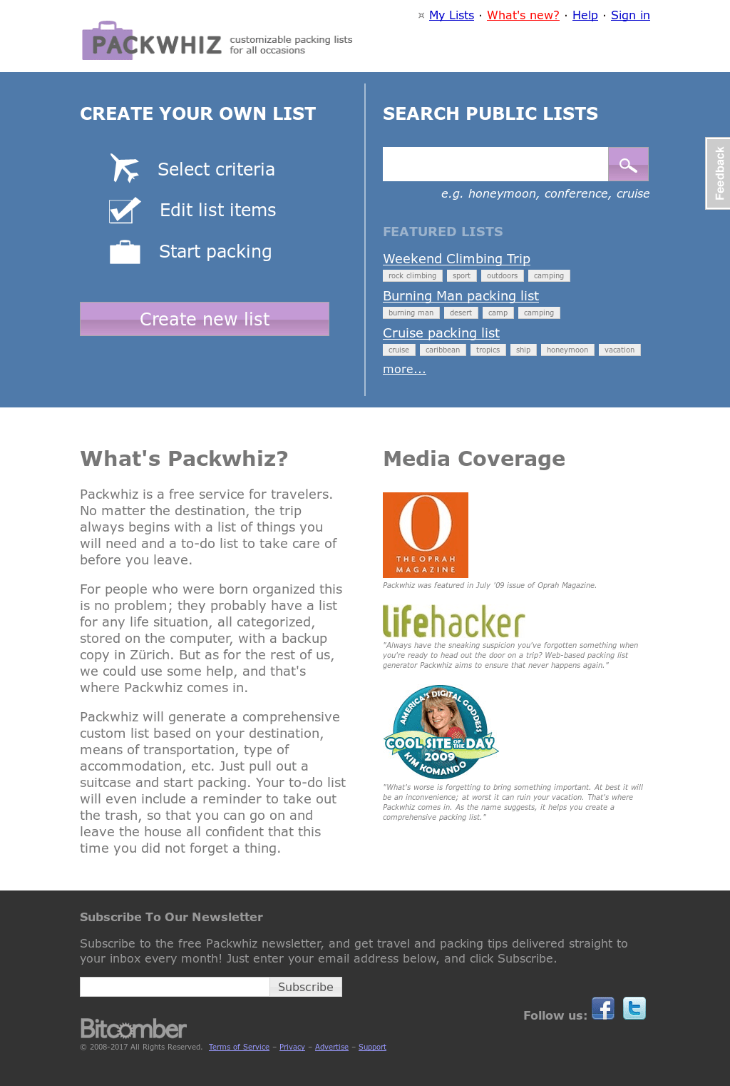 Packwhiz.com - Packing List Generator Competitors, Revenue And Employees -  Owler Company Profile