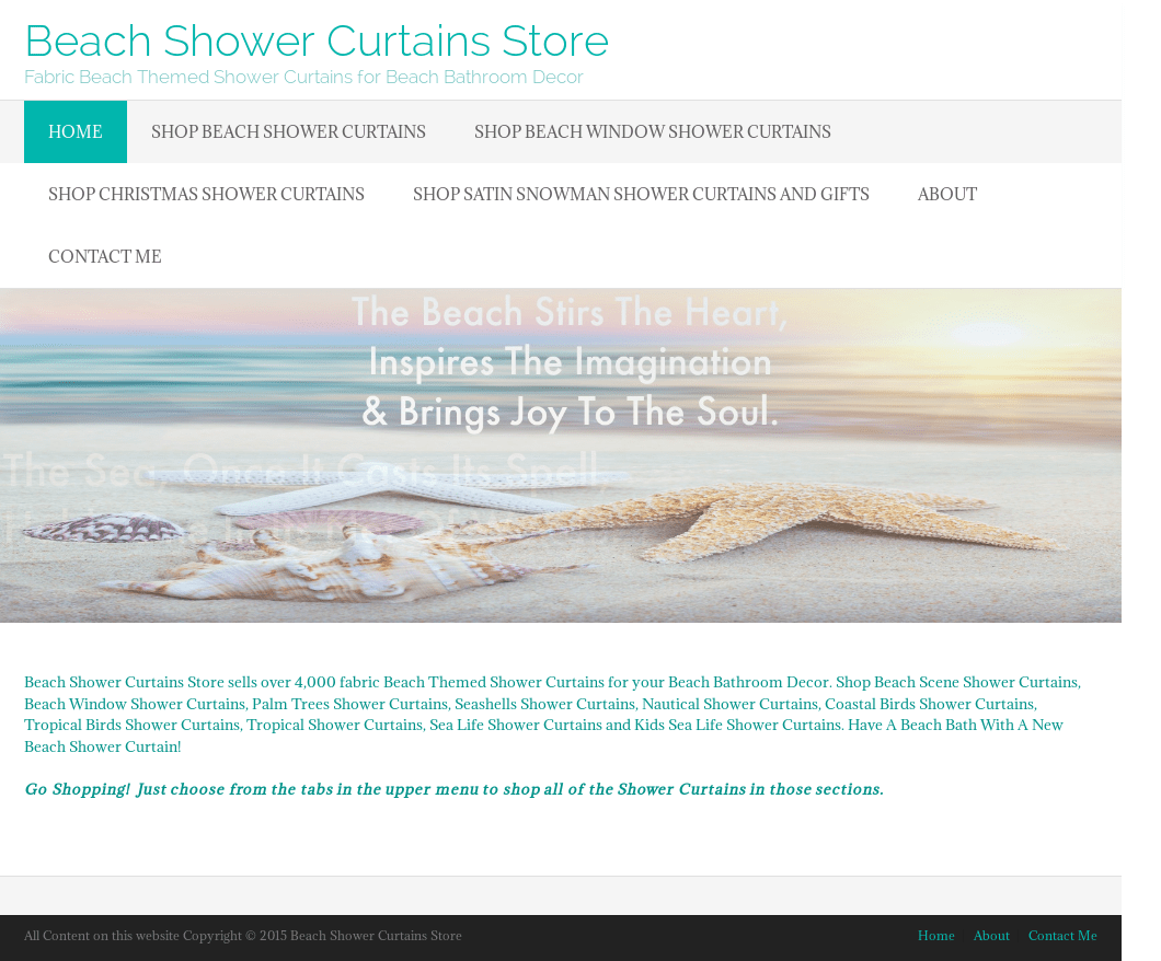 Beach Shower Curtains Store Competitors Revenue And