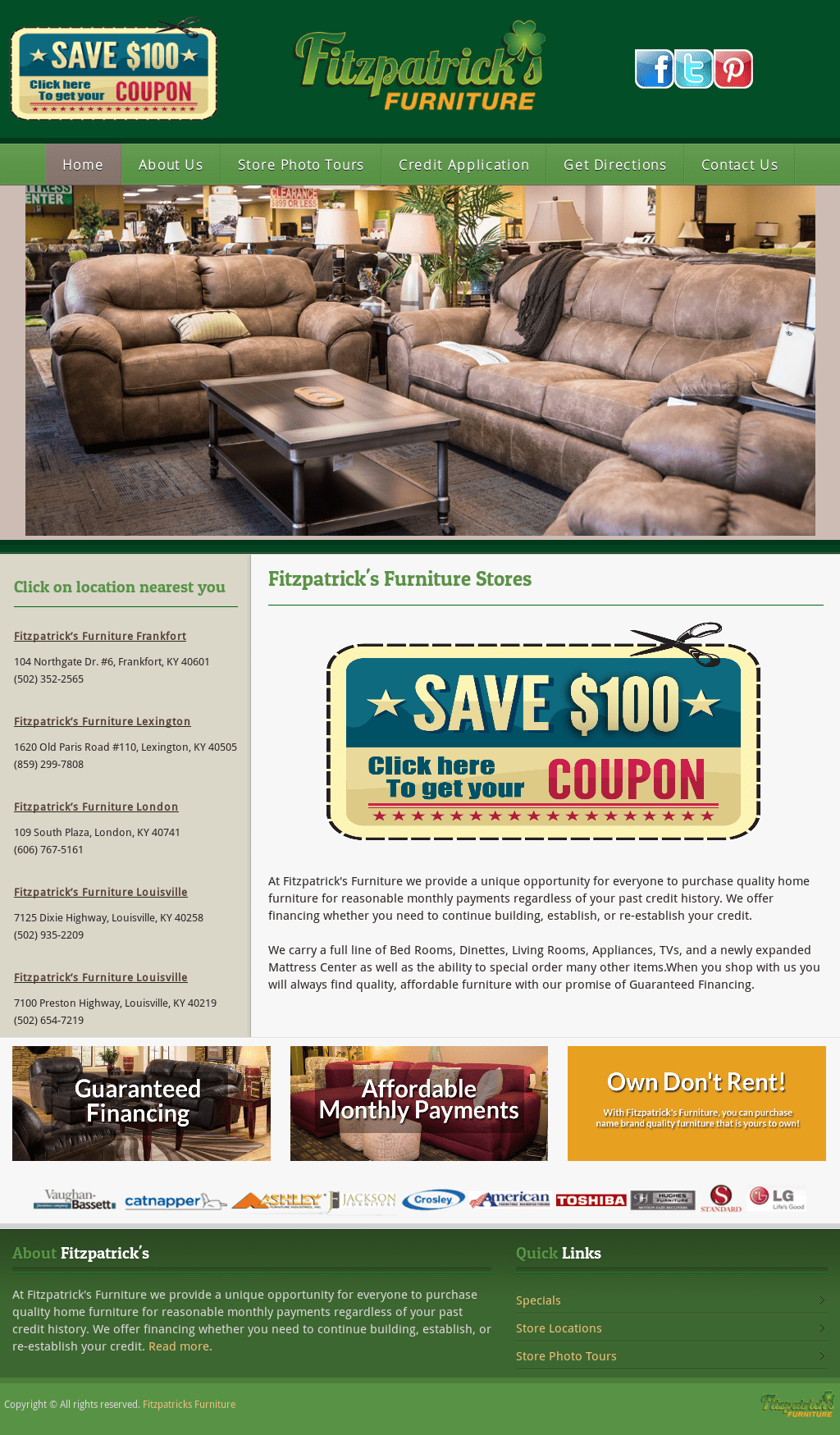 Fitzpatrick's Furniture in Lexington, KY 40505 - YellowBot