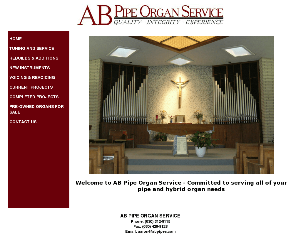hight resolution of ab pipe organ service competitors revenue and employees owler company profile
