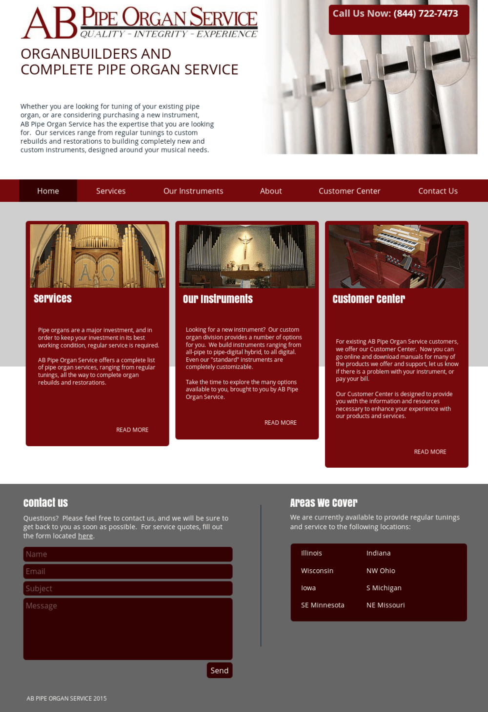 medium resolution of ab pipe organ service competitors revenue and employees owler company profile