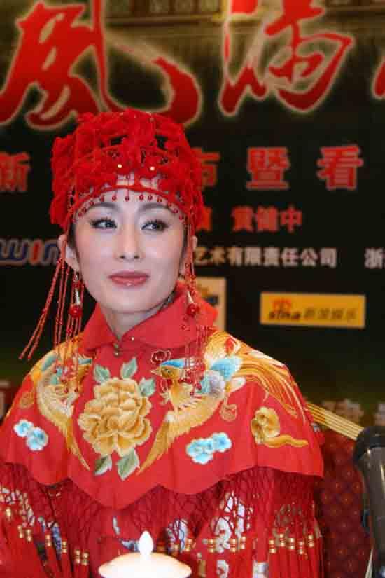 組圖:《風滿樓》看片會 林依倫張敏現場表演_影音娛樂_新浪網