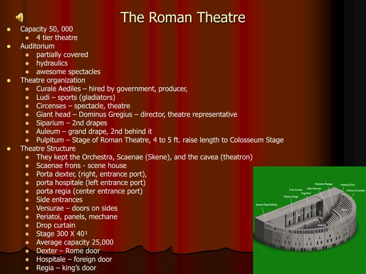 PPT Classical Theatre History A Journey Through Time Greek And Roman History PowerPoint