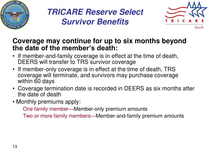 PPT  TRICARE Reserve Component Eligibility PowerPoint