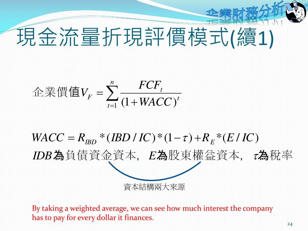 PPT - 企業金融的十二堂課 - 企業財務分析 PowerPoint Presentation - ID:3703719