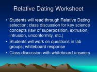 Relative Age Dating Worksheet | www.imgkid.com - The Image ...