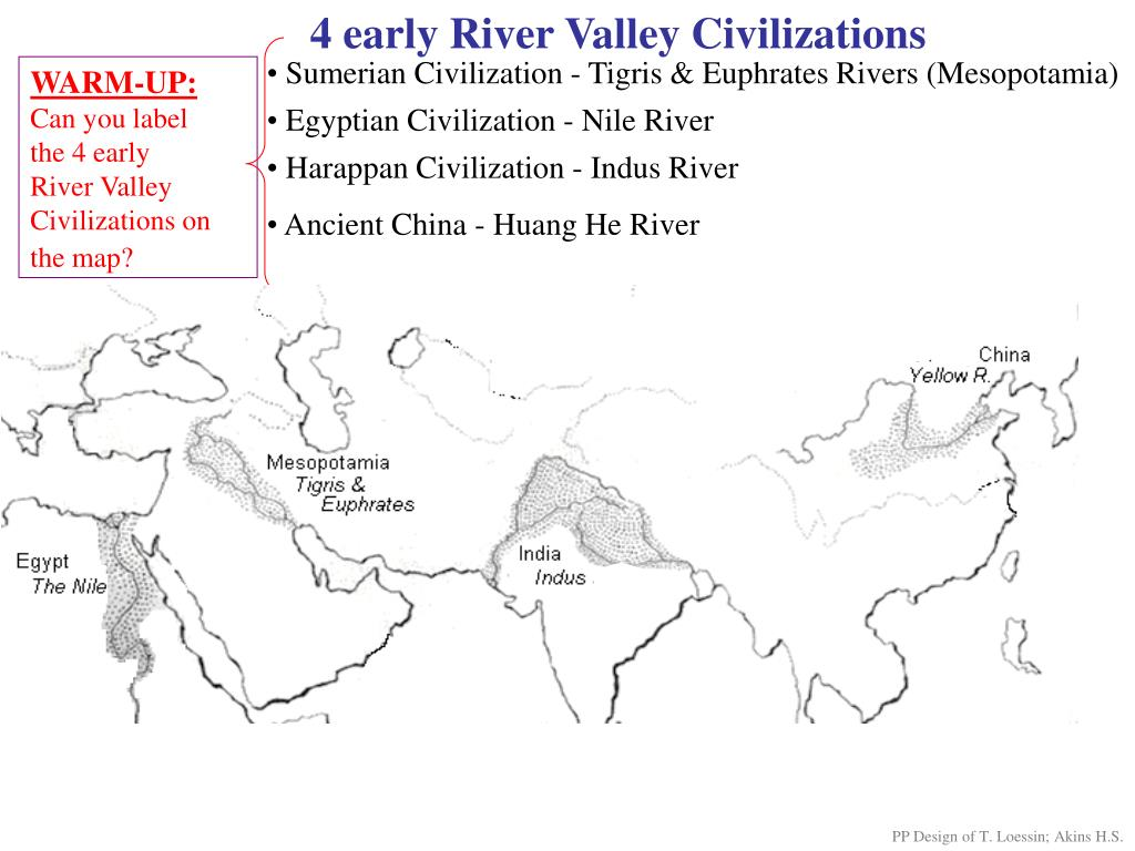What Are The Four Ancient River Valley Civilizations