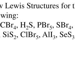 draw lewis structures for the following so3 cbr4  [ 1024 x 768 Pixel ]