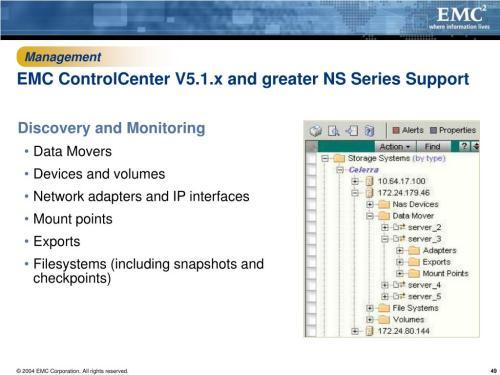 small resolution of management emc controlcenter