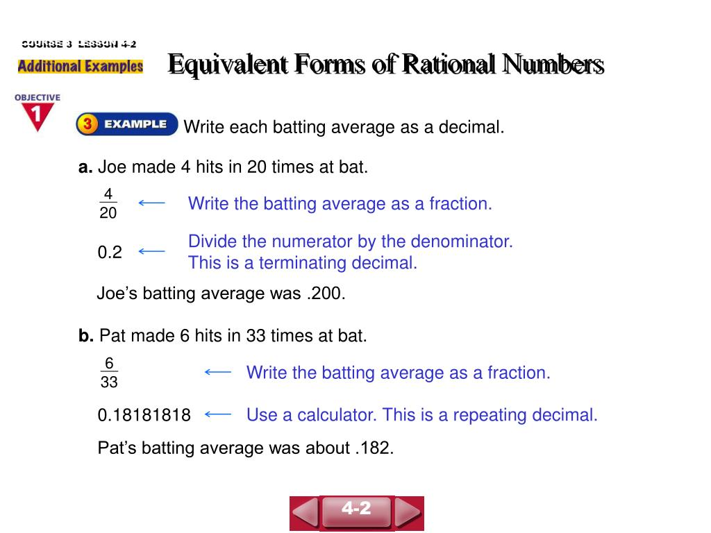 Solving Equations With Rational Numbers Powerpoint