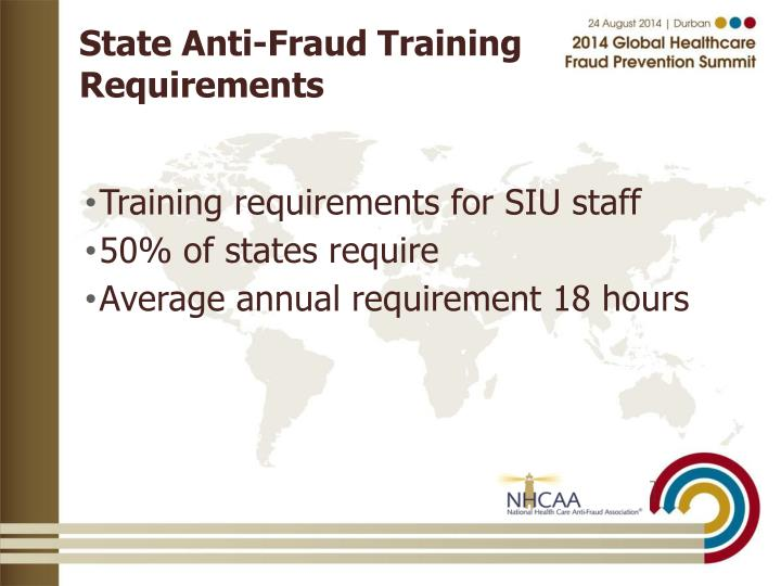 PPT  AntiFraud Training and Accreditation PowerPoint Presentation  ID3848988