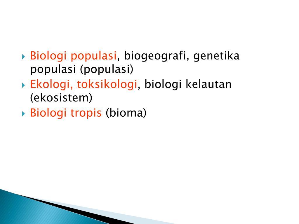 Mempelajari bentuk dan struktur suatu mahluk hidup. PPT - BAB I BIOLOGI SEBAGAI ILMU PowerPoint Presentation