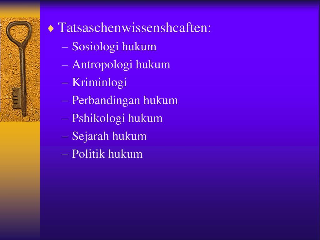 Ppt (diberikan pada saat perkuliahan). PPT - SOSOLOGI HUKUM PowerPoint Presentation - ID:3885990
