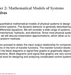 the dynamic behavior is generally described by ordinary differential equations we will consider a wide range of systems  [ 1024 x 768 Pixel ]