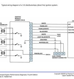 figure 8 24typical wiring diagram of a v 6 distributorless direct fire ignition  [ 1024 x 768 Pixel ]
