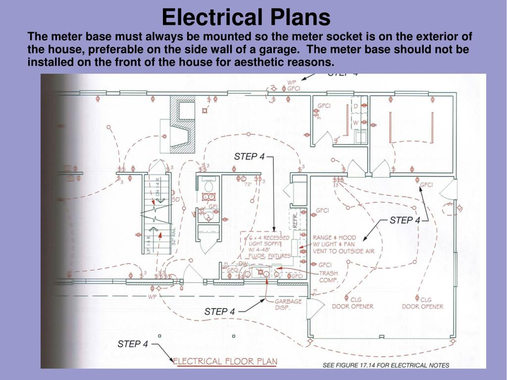 hight resolution of electrical plans the meter base must always be mounted so the meter socket is on the exterior of the house preferable on the side wall of a garage