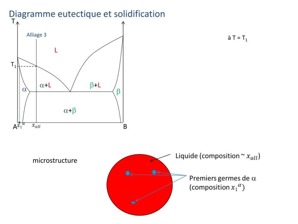 medium resolution of diagramme eutectique et solidification t