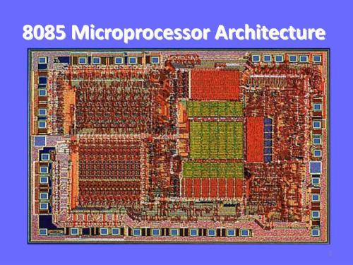 small resolution of 8085 microprocessor architecture n